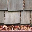 clogged gutters from debris and leaves